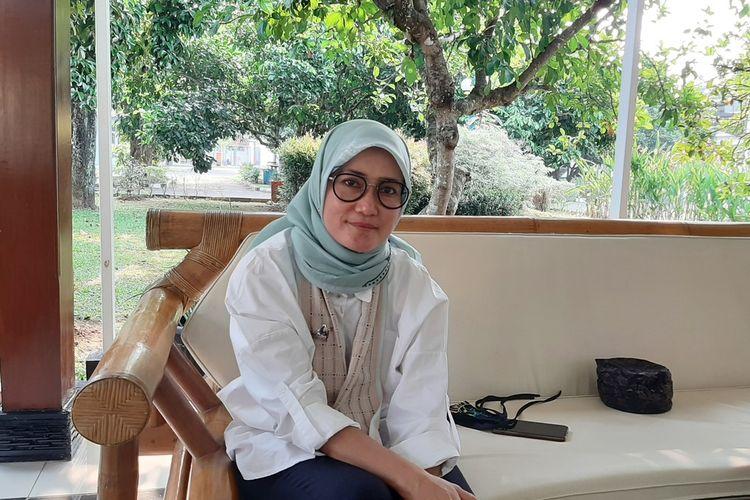Bupati Lebak Iti Octavia Jayabaya saat ditemui di Pendopo Bupati Kabupaten Lebak di Rangkasbitung, Rabu (19/8/2020).