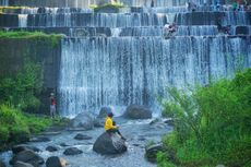 Gunung Merapi Keluarkan Awan Panas ke Hulu Kali Krasak, Wisata Grojogan Watu Purbo Tetap Aman