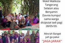 Viral Foto Langgar Protokol Kesehatan, Komunitas di Tangsel Jalani Rapid Test