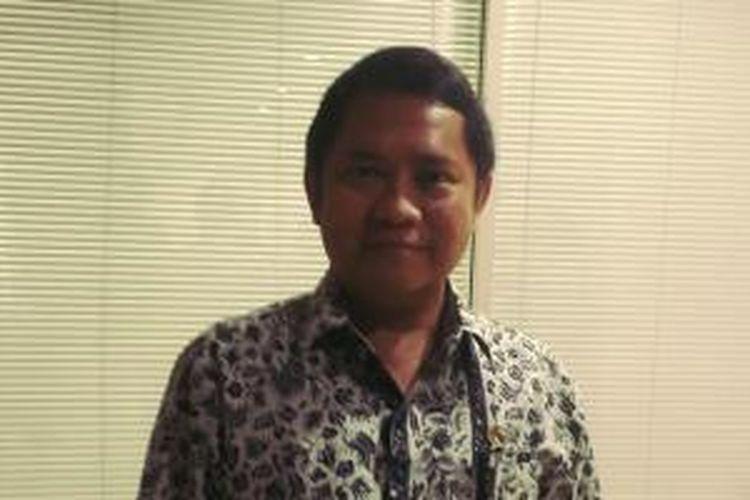 Menteri Komunikasi dan Informatika Rudiantara usai menghadiri Rapat Dengar Pendapat (RDP) dengan Komisi I Dewan Perwakilan Rakyat (DPR) Republik Indonesia