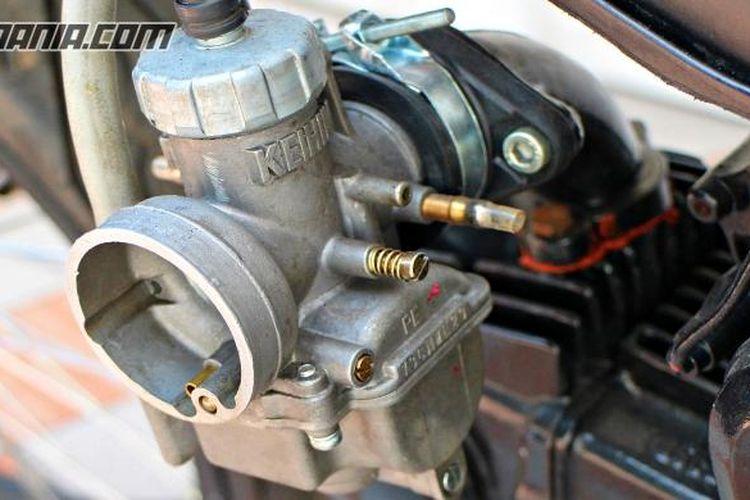 Karburator tanpa filter udara