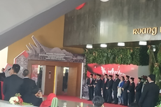9 Pimpinan MPR Sambut Kedatangan Jokowi di Gedung Nusantara DPR