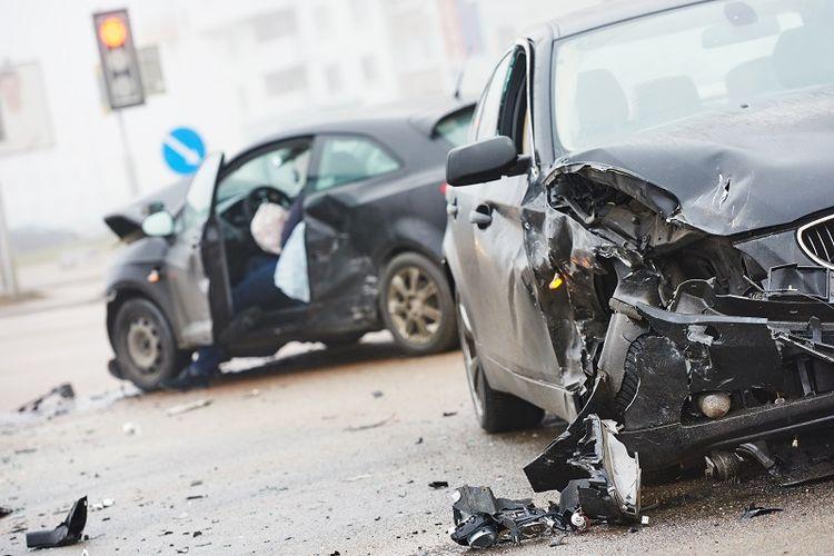 Kecelakaan lalu lintas.