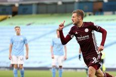 5 Rekor yang Tercipta pada Laga Man City Vs Leicester, Vardy Raja Penalti