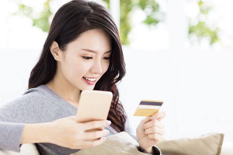 Ilustrasi pengguna digital banking platform myBCA