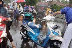 Jangan Kaget jika Rem Motor Mengunci Setelah Terjang Banjir