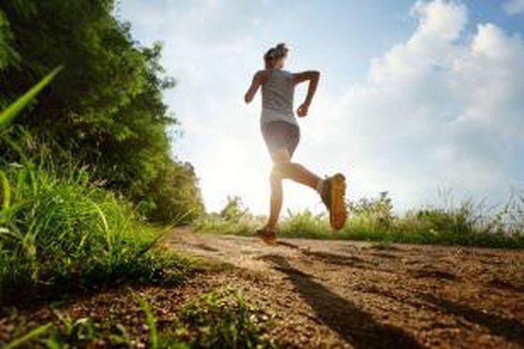 Ilustrasi joging.