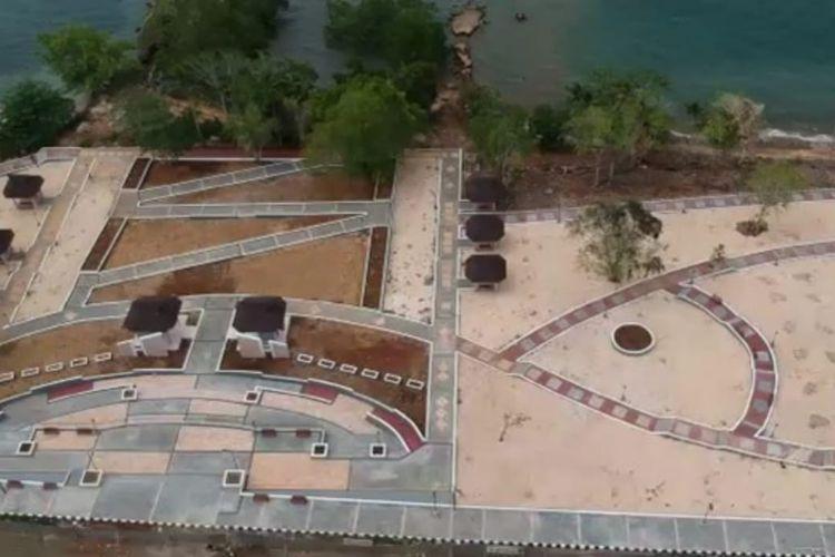 Penataan kawasan Army Dock, Maluku Utara.