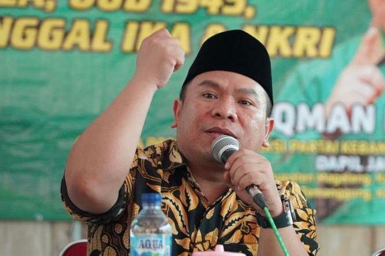 Anggota DPR RI Fraksi PKB Luqman Hakim