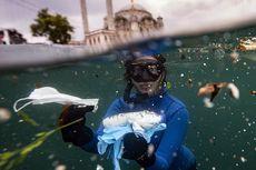 Sampah Masker, Sarung Tangan, dan Botol Disinfektan Cemari Selat Bosporus