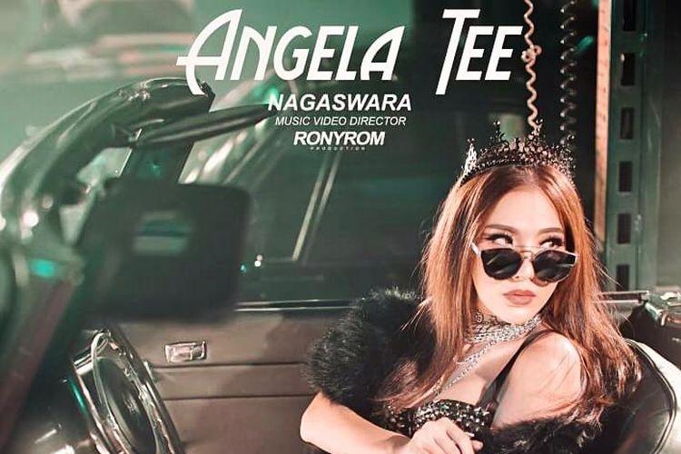 Angela Tee dalam cover single terbarunya, Iyo I Can yang dirilis oleh label rekaman Nagaswara.