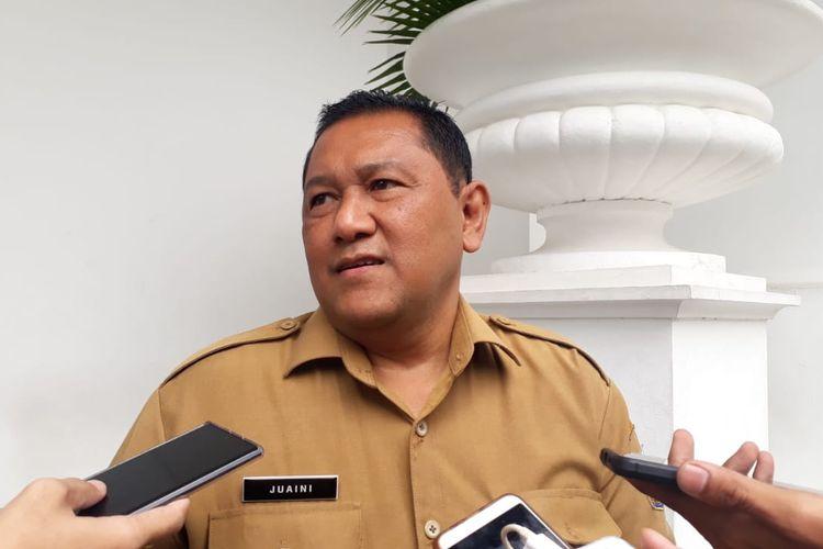 Kepala Dinas Sumber Daya Air DKI Jakarta Juaini Yusuf di Balai Kota DKI Jakarta, Senin (17/2/2020).