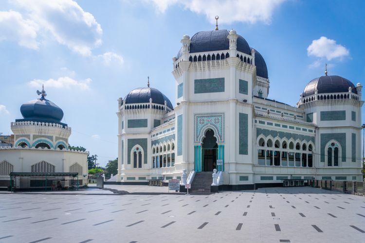 Masjid Raya Medan.