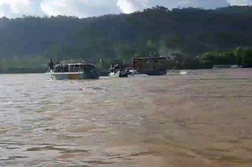 Kapal Feri Tenggelam di Sungai Mahakam