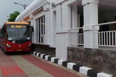 Belum Jelas, Motif Perusakan Halte Bus Transjakarta