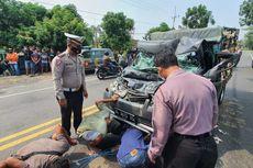 Kecelakaan Beruntun di Nganjuk, Dipicu Pengemudi Mobil yang Mengantuk