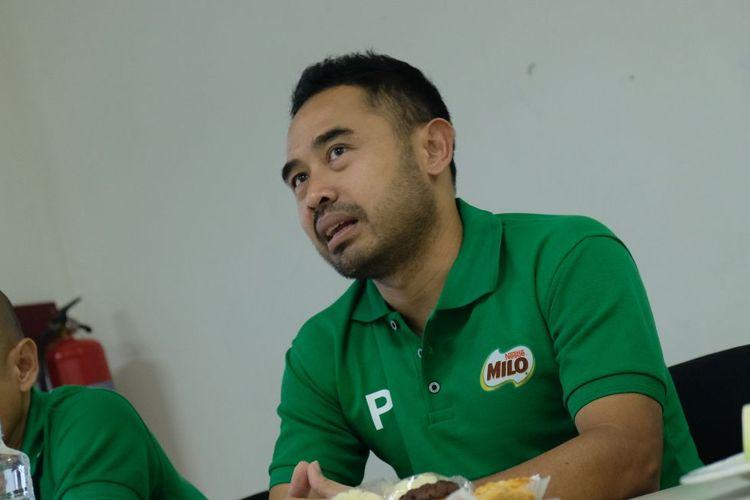 General Manager APPI, Ponaryo Astaman, saat berkunjung ke Redaksi BolaSport.com pada Februari 2019.