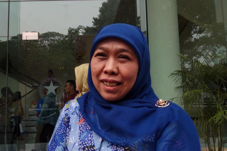 Khofifah Indar Parawansa, salah satu nama yang muncul dalam pencarian calon gubernur Jatim yang akan diusung Nasional Demokrat (Nasdem).