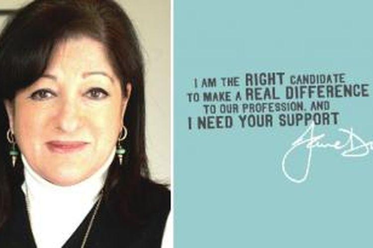 Jane Duncan terpilih sebagai Presiden RIBA.