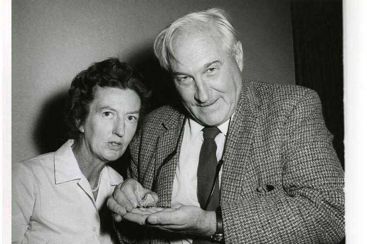Mary Leakey dan suaminya