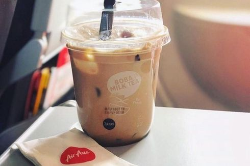 Bubble Tea Kini Ada di Rute AirAsia Thailand, Bagaimana AirAsia Indonesia?