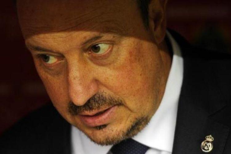 Mantan pelatih Real Madrid, Rafael Benitez.