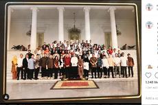 Potret Jokowi Bertemu 100 Selebritas, dari David Naif hingga Sruti Respati...