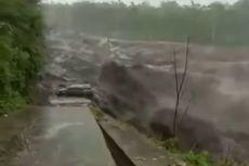 Heboh Video Viral Mobil Terseret Lahar Dingin Semeru, Mulanya Diparkir di Bibir Sungai, Kini Masih Dicari
