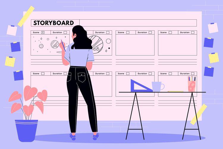 Ilustrasi Storyboard