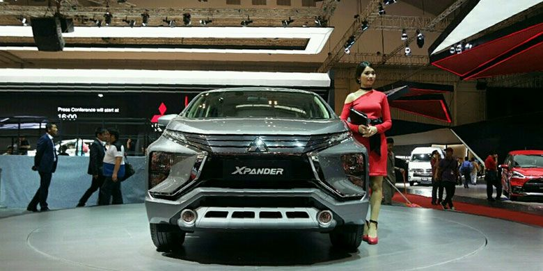 Perpaduan konsep SUV dan minivan diklaim membuat Xpander unik di kelasnya. (KOMPAS.com/Tiara Fitriyani)