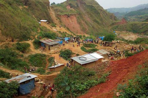 Tambang Emas di Kongo Longsor, 50 Orang Tewas