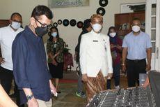 Gibran Ajak Wishnutama Blusukan ke Kebun Binatang dan Studio Rekaman di Solo