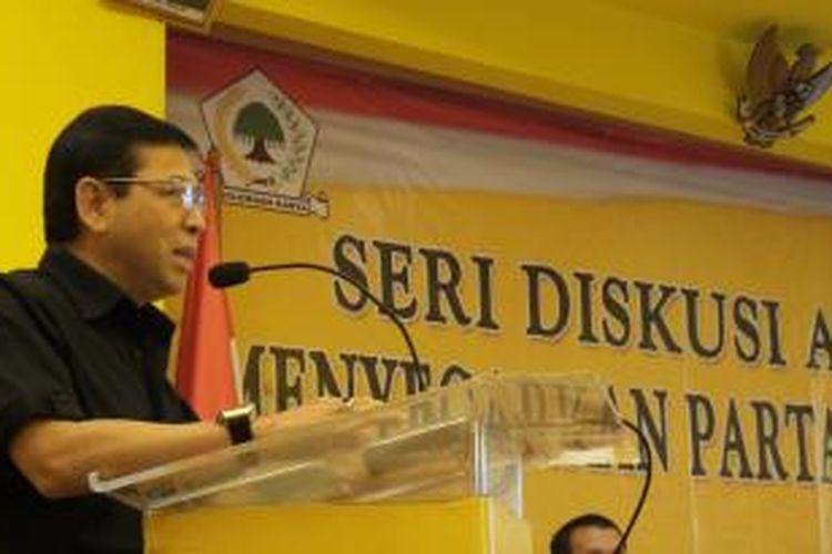 Bendahara Umum Partai Golkar Setya Novanto
