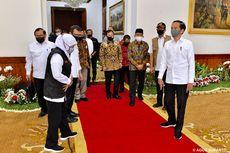 Kunjungan Jokowi ke Zona Merah Covid-19...