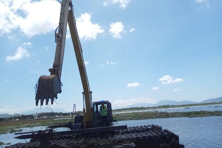 Penanganan sedimentasi di Danau Limboto