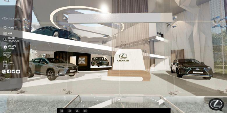 Untuk visualisasi desain Lexus Experience, pabrikan asal Jepang menggabungkan desain Lexus Gallery yang ada di Indonesia, seperti Lexus Menteng Gallery, Lexus Mampang Gallery, dan Lexus Pluit Gallery.