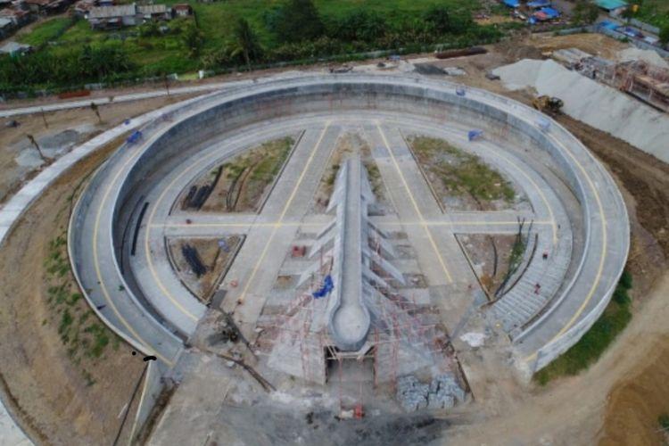Pembangunan Monumen Kapsul Waktu di Kabupaten Merauke, Provinsi Papua.