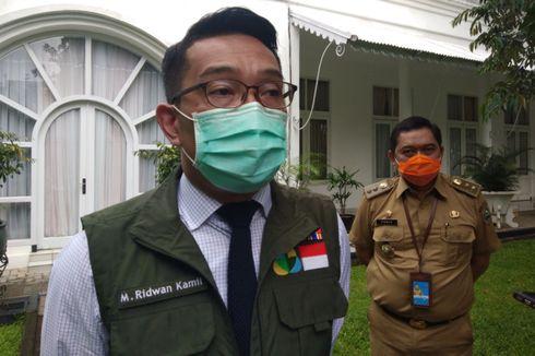 Ridwan Kamil Sebut 5 Daerah di Jabar Ajukan Status PSBB