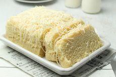 Resep Bolu Susu Kelapa Keju, Kue Simpel Tanpa Oven