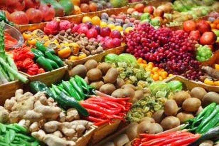 Lonjakan harga-harga pun tidak dapat mengalahkan kebutuhan masyarakat akan sembako dan bahan pangan lainnya.