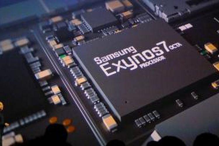 CEO Meizu Bai Yongxian menerangkan soal prosesor Samsung Exynos 7420 yang digunakan pada Meizu Pro 5.