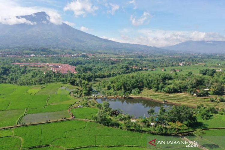 Perkemahan Embung di Kecamatan Tarogong Kidul, Kabupaten Garut