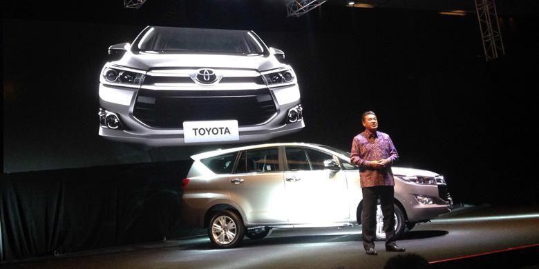 Toyota Indonesia meluncurkan generasi terbaru Kijang Innova, perdana di dunia.