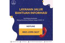 Permudah Akses Informasi Faskes, Satgas Covid-19 Luncurkan Layanan Hotline di DKI dan Bandung Raya