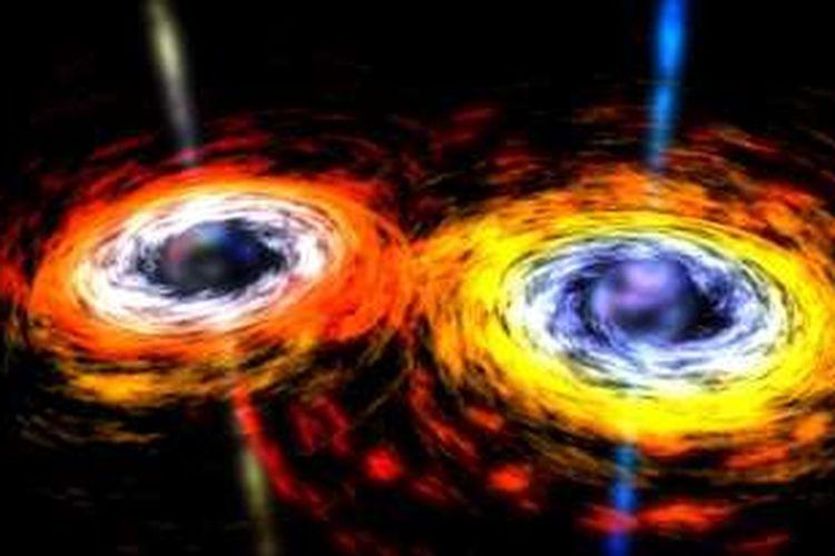 Gelombang gravitasi terdeteksi lewat riset dengan fasilitas LIGO. Penemuan yang diumumkan Kamis (11/2/2016) ini membuktikan kebenaran pendapat Einstein dan menandai awal baru dalam fisika.