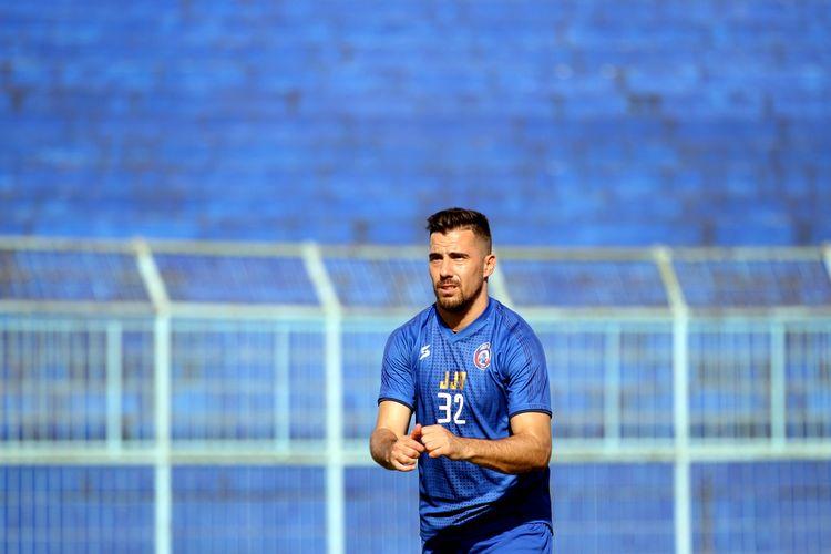 Pemain asing Arema FC untuk musim 2020, Jonathan Bauman.