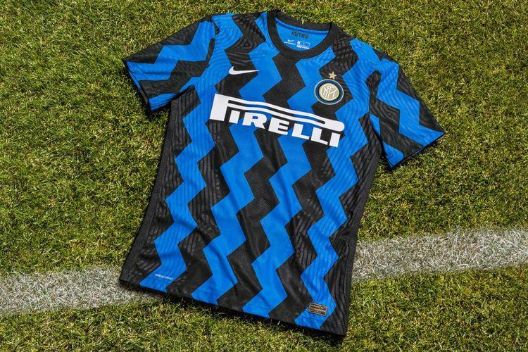 Nike merilis jersey kandang Inter Milan untuk musim 2020/2021.