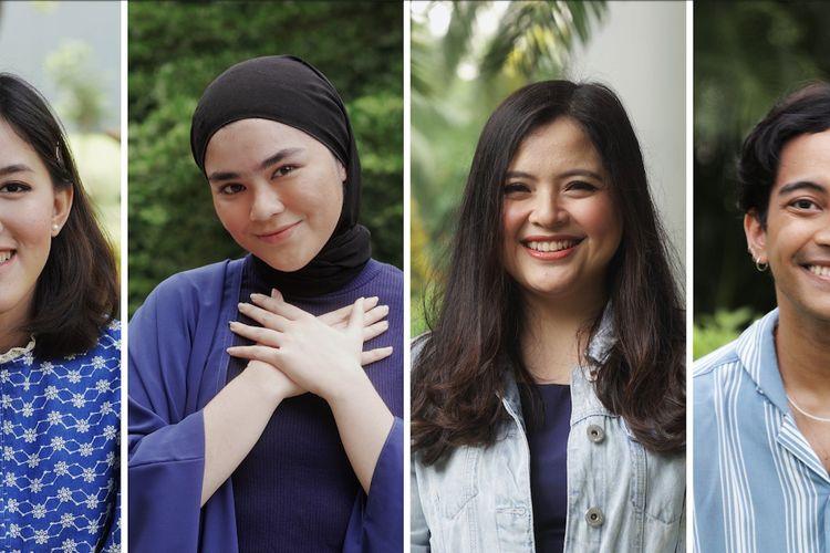 Gamaliél, Ify Alyssa, Sivia, dan Tasya Kamila berkolaborasi nyanyikan lagu-lagu Disney.