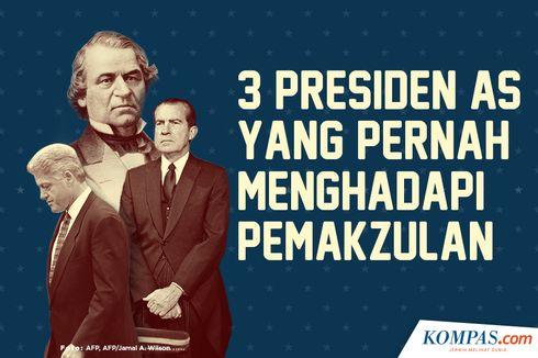 INFOGRAFIK: 3 Presiden AS yang Pernah Menghadapi Pemakzulan