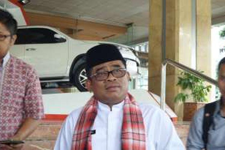 Pelaksana tugas Gubernur DKI Jakarta Sumarsono